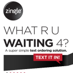 Zingle Text Ordering